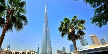 Verdens høyeste bygning Burj Khalifa