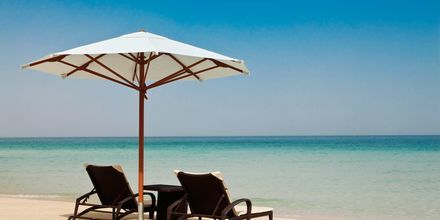 Stranden ved Hilton Dubai Jumeirah Resort