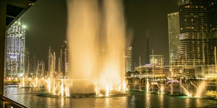 Dubai Fountain i Dubai Downtown