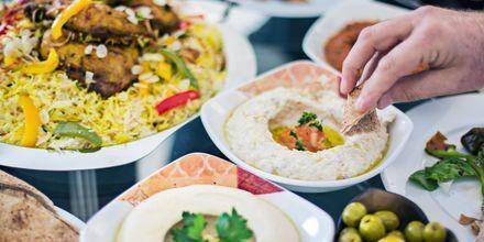 Spennende smaker i Dubai