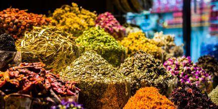 Krydder i souken i Dubai