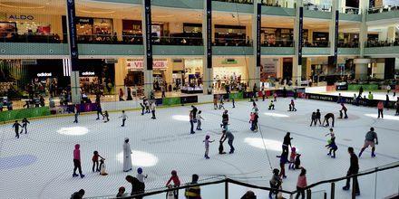 Skøyteis i Dubai Mall