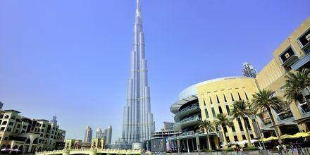 Burj Khalifa og Dubai Mall i Dubai Downtown, ca. 20 kilometer fra Barsha Heights