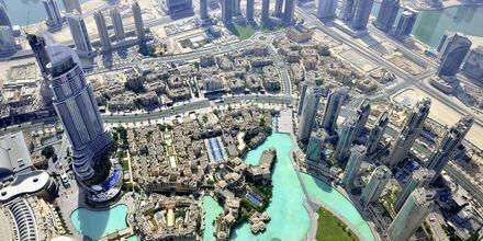 Utsikten fra Burj Khalifa