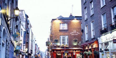 Temple Bar i sentrum av Dublin.