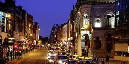Kveld i Dublin.