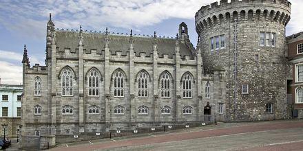 Dublin Castle – slottet i Dublin. Slottets eldste deler er fra 1100-tallet.