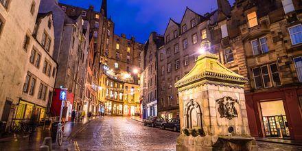 Victoria Street i Edinburgh.