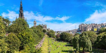 Sommer i Edinburgh.