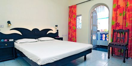 Dobbeltrom – Empire Beach Resort i Nord-Goa