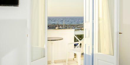 Dobbeltrom med utsikt mot havet