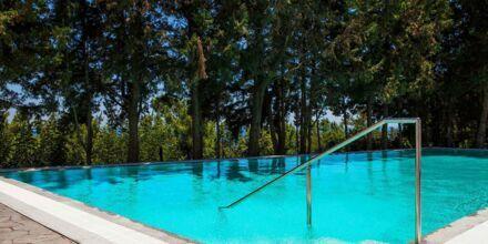 Dobbeltrom med eget basseng