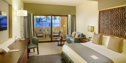 Deluxerom på Fanar Hotel & Residences i Salalah, Oman.