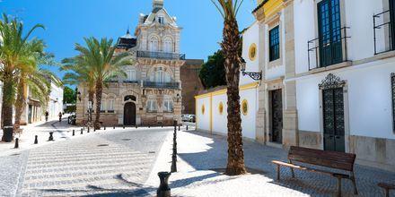 Sentrum av Faro er velbevart med innslag fra middelalderen.