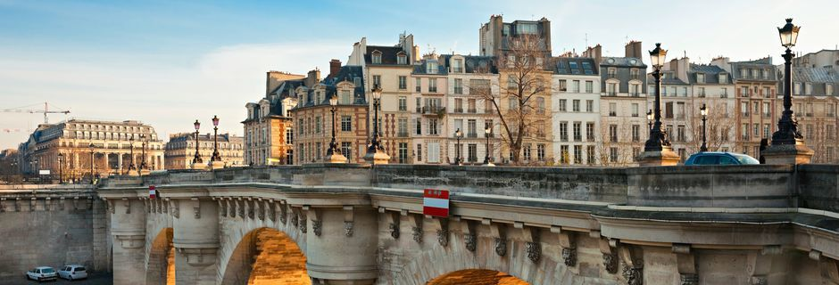 Pont Neuf i Paris