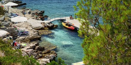 Nærmeste mulighet til bad i havet ved hotellet