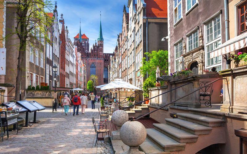 Gdansk i Polen er et svært hyggelig reisemål.