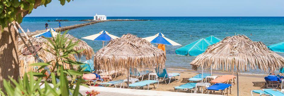 Strand i Georgioupolis