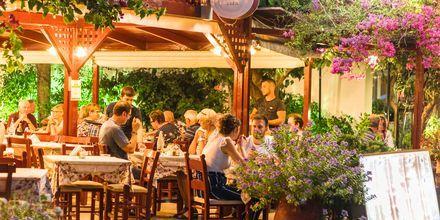 Koselig restaurant i Georgioupolis