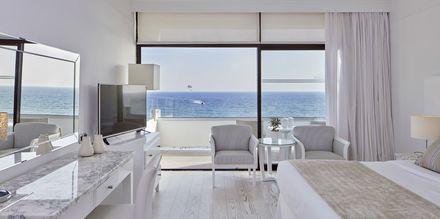 Dobbeltrom med havutsikt på hotell Grecian Bay, Kypros