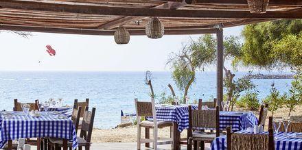 Restaurant Fisherman's hut på hotell Grecian Bay, Kypros