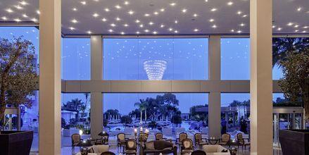 Lobbyen på hotell Grecian Park, Kypros.