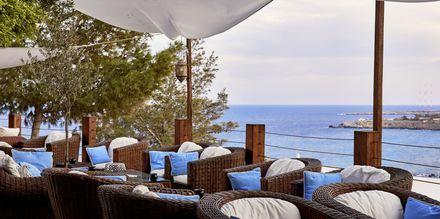 Loungebaren på hotell Grecian Park, Kypros.