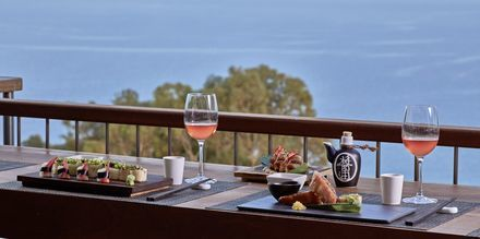 Restaurant på hotell Grecian Park, Kypros.