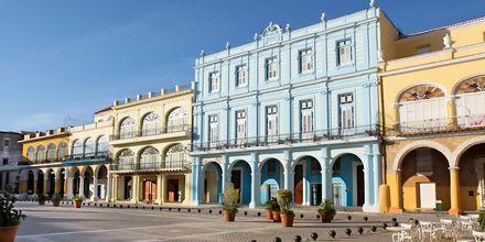 Plaza Vieja i Havanna
