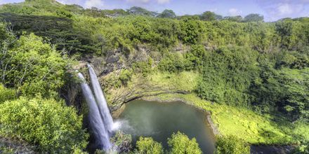 Waiula falls på Big Island.