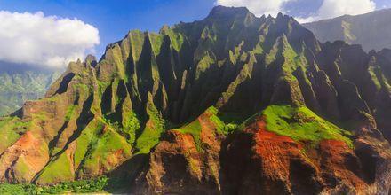 Øya Kauai er et spennende utfluktsmål på Hawaii.