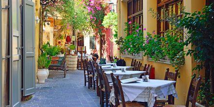 Chania by på Kreta