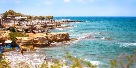Strand og klipper i Hersonissos