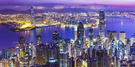 Hong Kong i Kina – en mektig metropol!