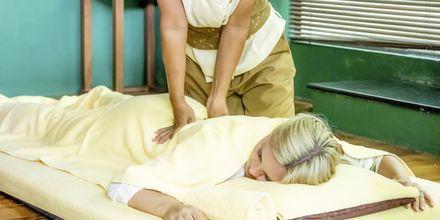 Massasje på hotellet