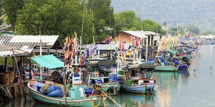 Fishermans Village ligger i nærheten av Hua Hin