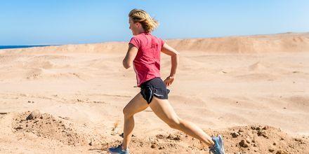 Løpetur langs stranden