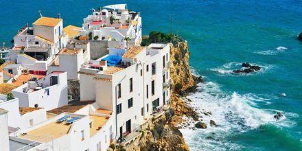 Bydelen Sa Penya på Ibiza er kjent for sitt natteliv.