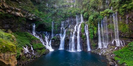 Cascade de Grand Galet, Ile de La Réunion.