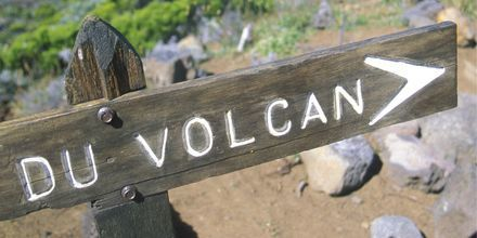 La Réunion er en vulkansk øy.