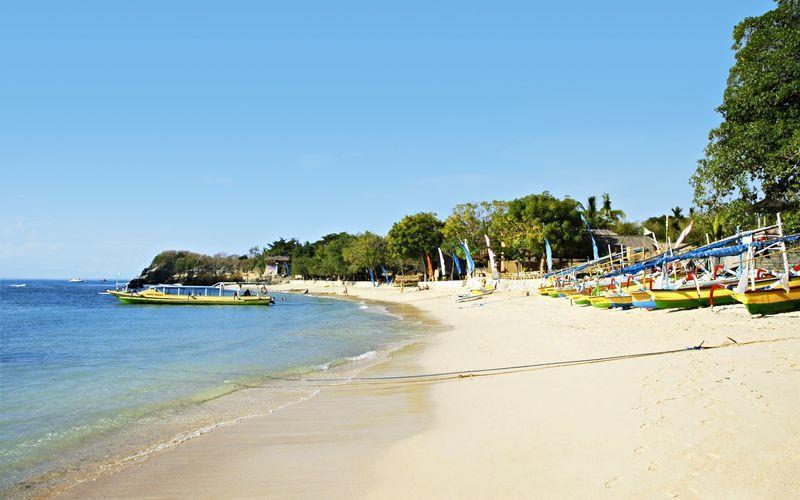 Stranden i Tanjung Benoa