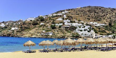 Myloptas-stranden innbyr til bading