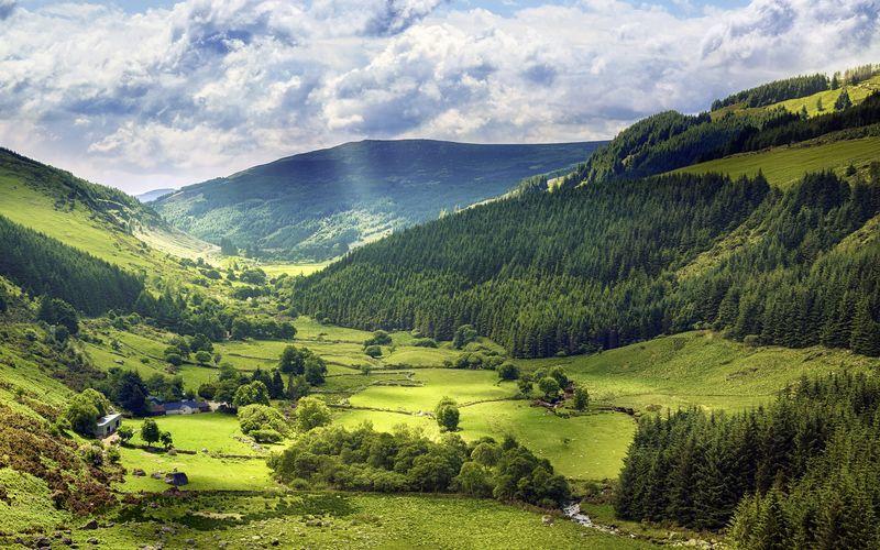 Den grønne øya Irland.