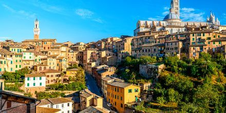 Vakre Siena i Toscana