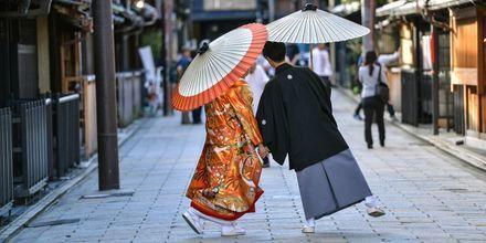 Den japanske kulturen skiller seg mye fra den vestlige.