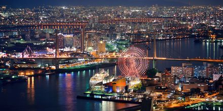 Osaka er en annen herlig by i Japan.
