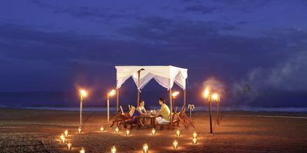 Nyt en intim middag under stjernene