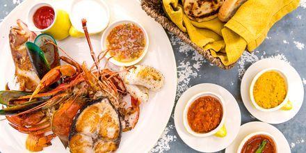 Srilankisk mat er godt!