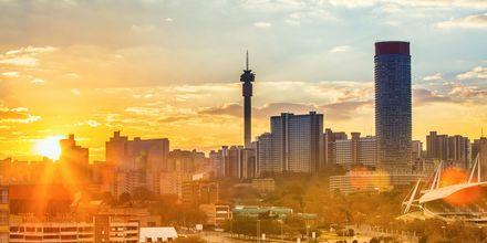Johannesburg er Sør-Afrikas største by.