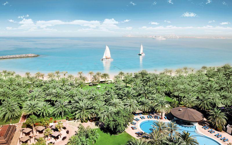 Stranden ved Sheraton Jumeirah Beach Resort